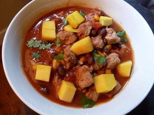CrockPot Caribbean Pork Chili