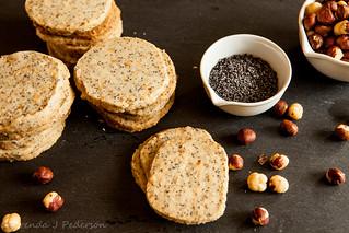 Hazelnut Poppy Seed Cookies