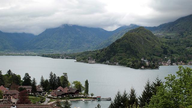 Biking Lake Annecy