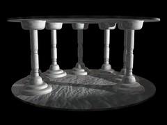 (misc) white columns