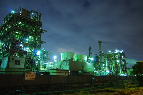 Nightscape at Kawasaki Industrial Zone 18