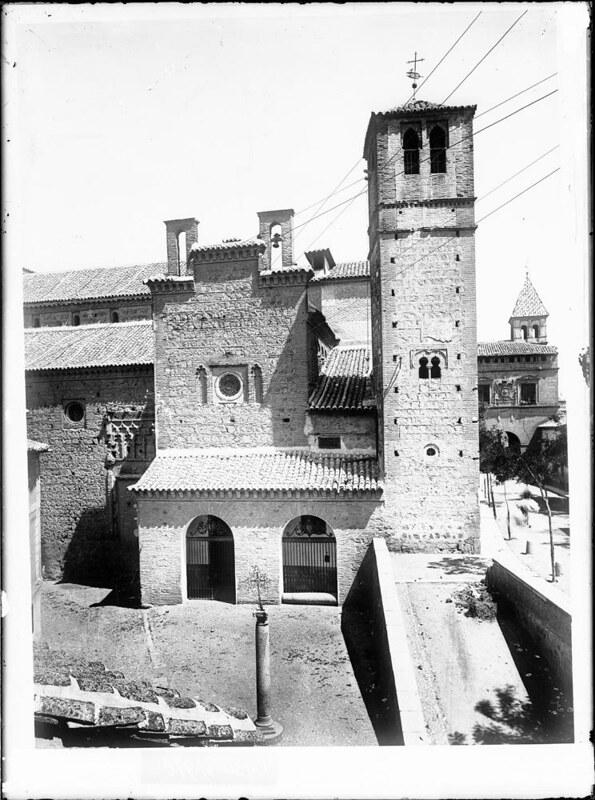 Santiago del Arrabal a comienzos del siglo XX. Fotografía de J. Lacoste © MECD, Fototeca del IPCE, signatura VN-22644_P