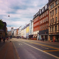 In the streets of Copenhagen