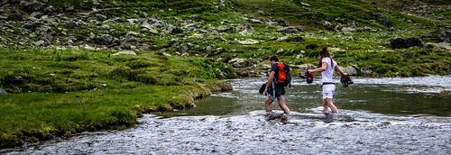 Sfida attraversare il Lago Lavoir
