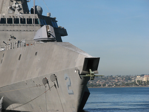 LCS Mission Module Navy Reservists Train for and Serve aboard USS Independence