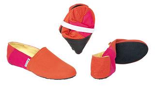 Flipsters Εσπαντρίγιες Πορτοκαλί - Φούξια