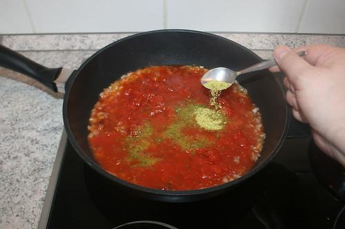22 - Gemüsebrühe einrühren / Stir in instant vegetable stock