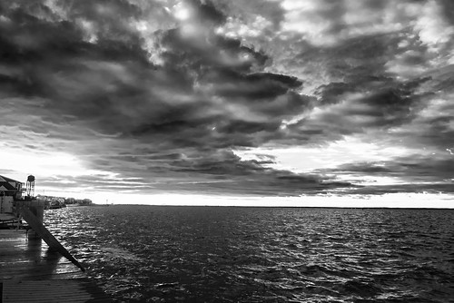 ocean travel sky blackandwhite bw beach water clouds contrast landscape bay nikon fireisland waterscape d600 nydavid1234