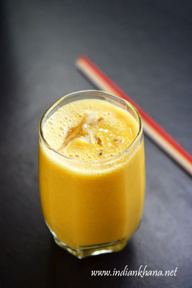 Vegan-Mango-Almond-Milkshake-Recipe