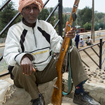 Simien Mountain Scout with a Gun - Debark, Ethiopia