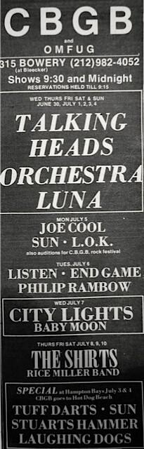 CBGB 06-30-76