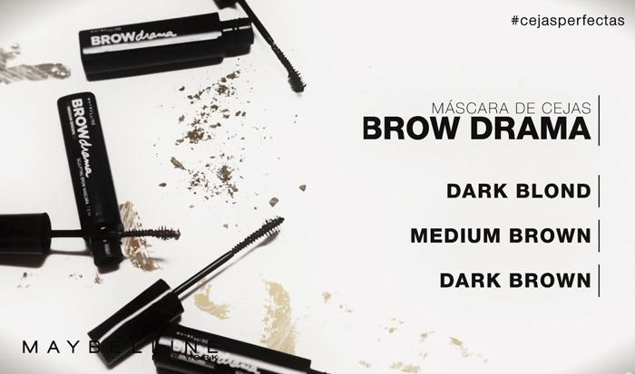 maybelline ny barbara crespo eyebrow design tips youtube video fashion blogger blog de moda brow drama cejas despobladas