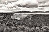 Rio Grande Gorge Bridge - Sort of Sepia