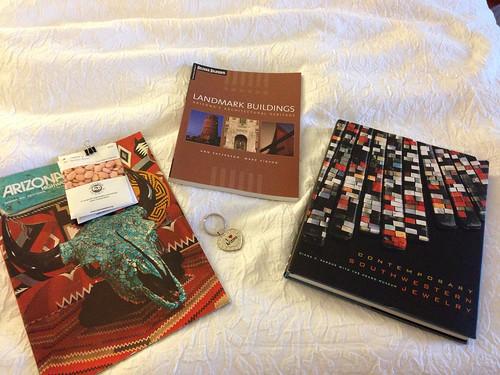 Books and magazines about Arizona.