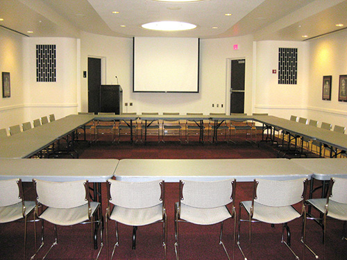 CMU Presidents Room - Large Meeting Table