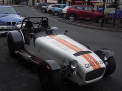 race car, automobile, lotus seven, vehicle, performance car, automotive design, open-wheel car, caterham 7, antique car, land vehicle, luxury vehicle, sports car,