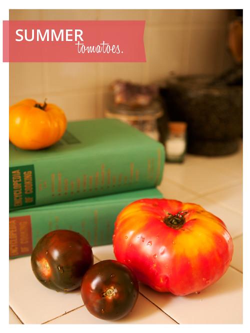 Summer Favorite: Tomatoes