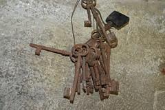 Rusty keys of Chalus