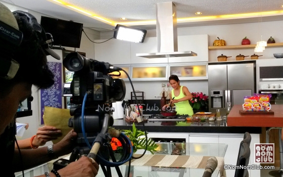 Jennelyn Mercado  @ Sarap with Family Cooking Show