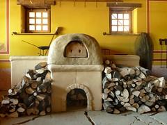 masonry oven, wood, room, fireplace, house, interior design, hearth,