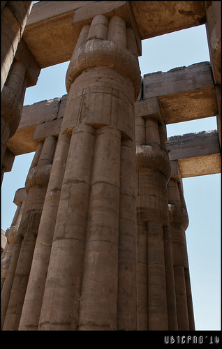 Detail of the hypostyle hall