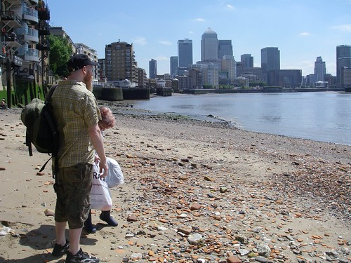 Mudlarking On The Thames - 3