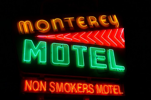 Monterey Motel - Route 66, Albuquerque, New Mexico