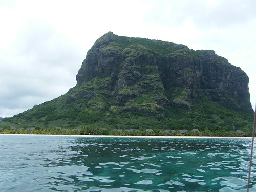 Le Morne from the sea