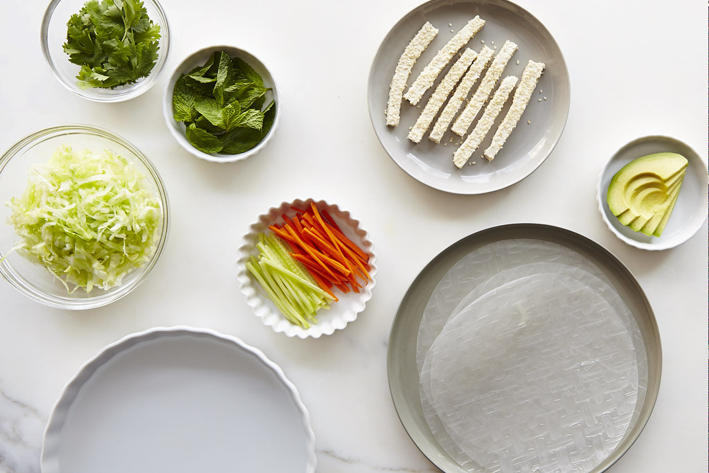 How to Wrap Fresh Spring Rolls