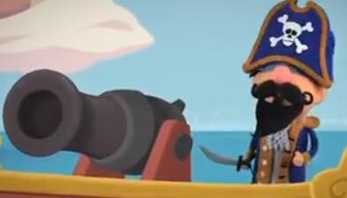 Captain Pete's cannon