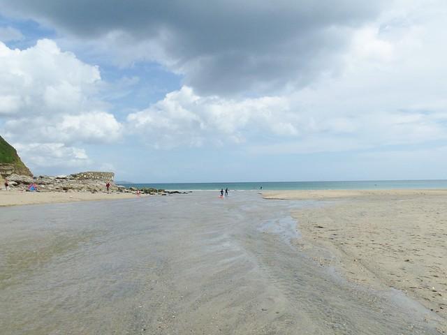 Pentewan Beach
