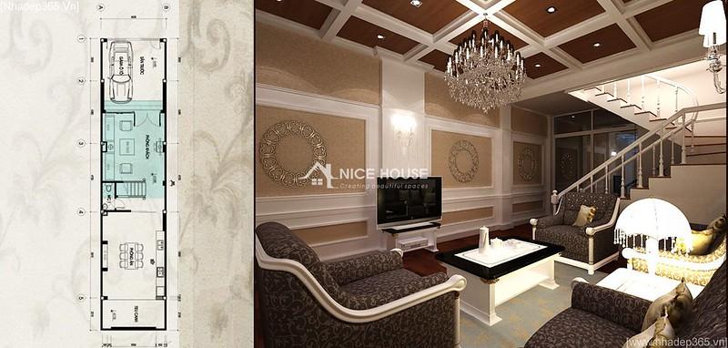 Thiết kế nội thất nhà anh Lý - Hà Đông_07