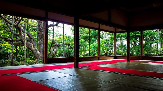 Hosenin Temple 宝泉院
