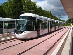 Tram in Rouen (France)