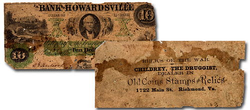 Childrey the Druggist banknote