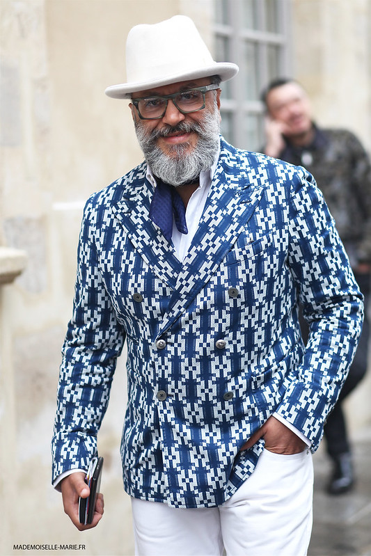Gianni Fontana at Paris Fashion Week Menswear day 4
