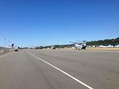 Chinooks -Marine Week at Boeing Field
