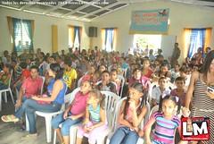 Constructora Alba entrega útiles escolares en Juan López
