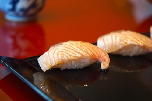 昼食 奴寿司 かんぱちあぶり
