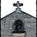 15 - Auvers-sur-Oise Eglise Notre-Dame de l'Assomption Statue de la Vierge au-dessus du portail ©melina1965
