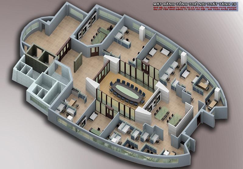 Nội thất văn phòng PVFC_10