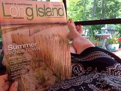 Dog days of summer on Long Island.