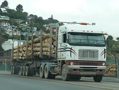 Freightliner Argosy Logging