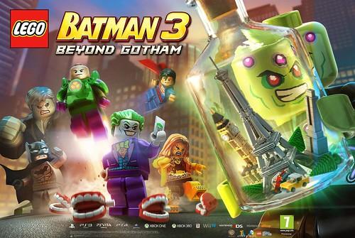 LEGO Batman 3: Beyond Gotham Brainiac Poster
