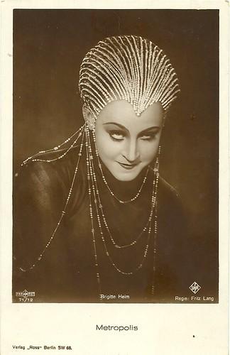 Brigitte Helm in Metropolis