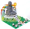 LEGO Buddha (Tian Tan Buddha x 1600 Pandas)