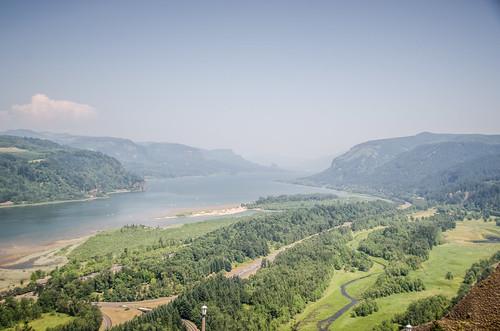 Columba Gorge from Vista House