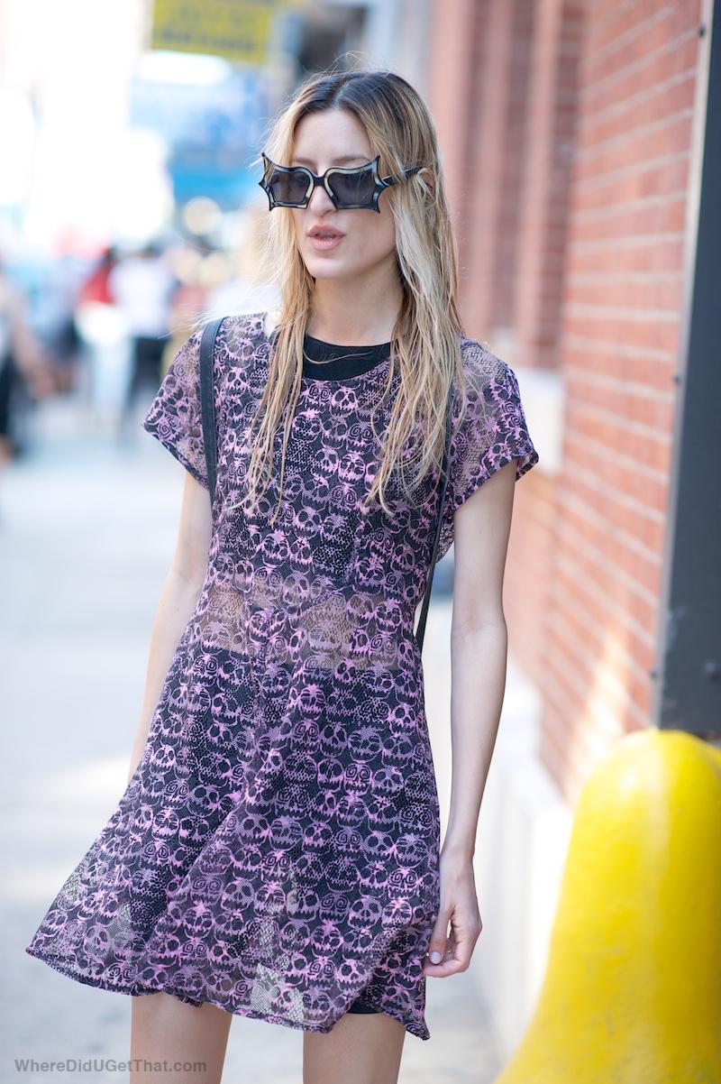 sheer summer dress