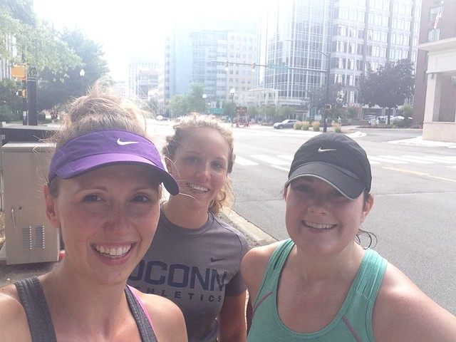 Running from Reston to VA Square!