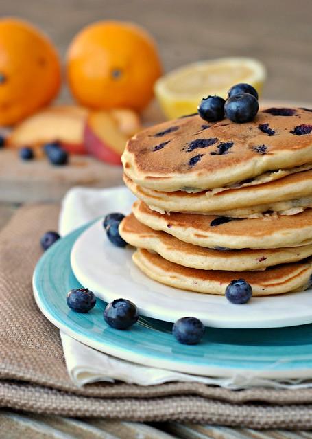 Lemon Blueberry Pancakes 4